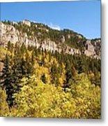 Spearfish Canyon Ridge Metal Print