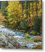 Spearfish Creek Autumn Metal Print
