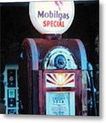 Special Mobilgas Metal Print