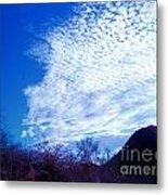 Speckled Sky Metal Print