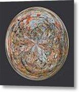 Specks Orb Metal Print