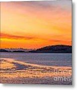 Spectacle Island Sunrise Metal Print