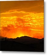 Spectacular Nevada Sunset  Metal Print