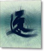 Speed - Modern Japanese Calligraphy Metal Print