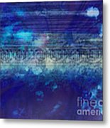 Speed Of Thought Metal Print
