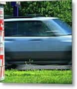 Speeding Gas Prices Metal Print
