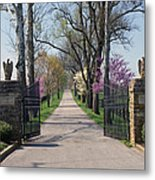Spendthrift Farm Entrance Metal Print