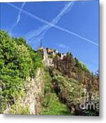 Sperone Fortress In Genova Metal Print