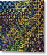 Spex Pseudo Abstract Art Metal Print