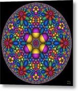 Sphere Packed Hyperbolic Disk Metal Print