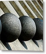 Spheres And Steps Metal Print by Christi Kraft