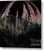 Spherescape 2  Metal Print