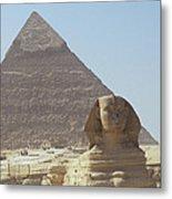 Sphinx Guard Metal Print