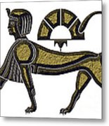 Sphinx - Mythical Creature Of Ancient Egypt Metal Print