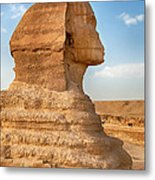 Sphinx Profile Metal Print by Jane Rix