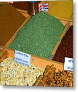 Spice Bar Metal Print