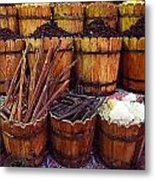 Spices In The Egyptian Market Metal Print