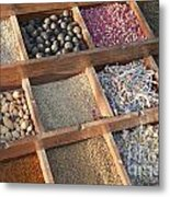 Spices Metal Print by Roberto Morgenthaler