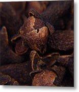 Spicy Close-ups Cloves Metal Print