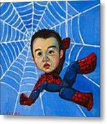 Spider-man Alan Metal Print