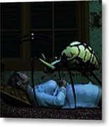 Spider Nightmare Metal Print