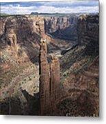 Spider Rock, Canyon De Chelly Metal Print