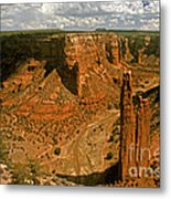 Spider Rock - Canyon De Chelly Metal Print