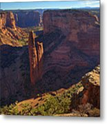 Spider Rock Sunrise Metal Print