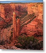 Spider Rock Sunset Metal Print