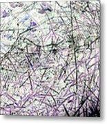 Spider Web Art 3 Metal Print