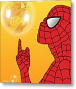 Spiderman 3 Metal Print