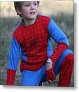 Well Done Spiderman Metal Print