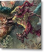 Spike Jester Metal Print
