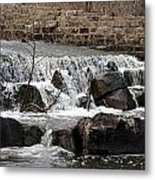 Spillway Waterfall Metal Print
