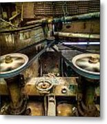 Spin Belt Metal Print by Tyler Lucas