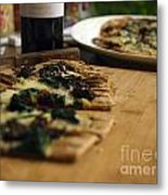 Spinach And Sun Dried Tomato Metal Print