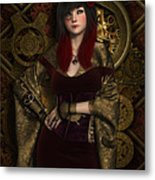 Spinner Of Time's Thread Metal Print