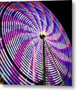 Spinning Disk Metal Print