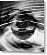 Spinning Eye Metal Print