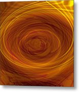 Spinning Out Of Control Metal Print
