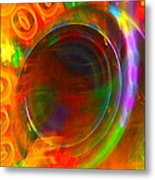 Spinning Wheel Of The Stars Metal Print