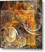 Spiral 136-02-13 - Marucii  Metal Print