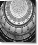 Spiral Dome Metal Print