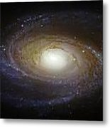 Spiral Galaxy M81 Metal Print by Jennifer Rondinelli Reilly - Fine Art Photography