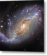 Spiral Galaxy Ngc 1672 Metal Print