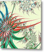 Spiral Garden Metal Print