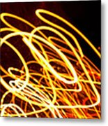 Spiral Light Among Dwellers About The City 2 Metal Print