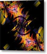 Spiral Of Burning Desires Metal Print