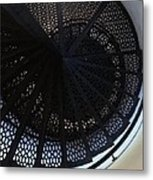 Spiral Staircase Metal Print by Brett Geyer