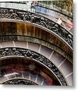 Spiral Staircase No4 Metal Print